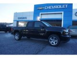 2017 Black Chevrolet Silverado 1500 Custom Double Cab 4x4 #120324564