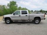 2005 Silver Birch Metallic GMC Sierra 2500HD SLE Crew Cab 4x4 #120324707