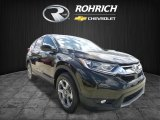 2017 Dark Olive Metallic Honda CR-V EX-L AWD #120324400
