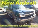2003 Dark Green Metallic Chevrolet Silverado 1500 LT Extended Cab 4x4 #120324593