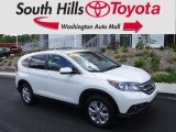 2014 White Diamond Pearl Honda CR-V EX AWD #120324445