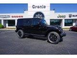 2017 Black Jeep Wrangler Unlimited Smoky Mountain Edition 4x4 #120324551