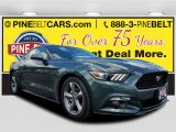 2015 Guard Metallic Ford Mustang V6 Coupe #120324345