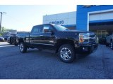2017 Black Chevrolet Silverado 2500HD High Country Crew Cab 4x4 #120324567