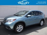 2014 Mountain Air Metallic Honda CR-V EX-L AWD #120324337