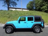 2017 Chief Blue Jeep Wrangler Unlimited Rubicon 4x4 #120324326