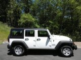 2017 Bright White Jeep Wrangler Unlimited Sport 4x4 RHD #120324325