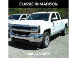 2017 Summit White Chevrolet Silverado 1500 LT Double Cab 4x4 #120350588