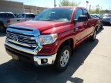 2017 Barcelona Red Metallic Toyota Tundra SR5 Double Cab 4x4 #120350599