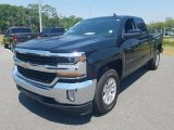 2017 Black Chevrolet Silverado 1500 LT Double Cab #120350655