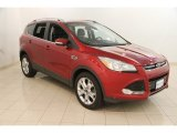 2014 Ruby Red Ford Escape Titanium 1.6L EcoBoost 4WD #120377596