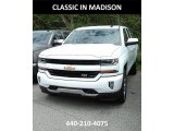 2017 Summit White Chevrolet Silverado 1500 LT Double Cab 4x4 #120377552