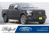 2017 Shadow Black Ford F150 Lariat SuperCrew 4X4 #120377504