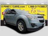 2014 Silver Topaz Metallic Chevrolet Equinox LS AWD #120399201