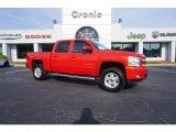 2012 Victory Red Chevrolet Silverado 1500 LT Crew Cab #120399349