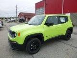 2017 Hypergreen Jeep Renegade Sport 4x4 #120423003