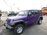 2017 Extreme Purple Jeep Wrangler Unlimited Sport 4x4 #120423001