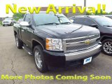2007 Black Chevrolet Silverado 1500 Work Truck Regular Cab 4x4 #120423057