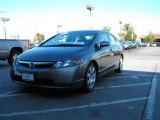 2006 Galaxy Gray Metallic Honda Civic LX Sedan #1203313