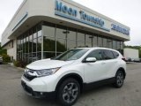 2017 White Diamond Pearl Honda CR-V EX AWD #120422992