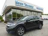 2017 Dark Olive Metallic Honda CR-V EX AWD #120422987