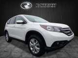 2014 White Diamond Pearl Honda CR-V EX AWD #120422870