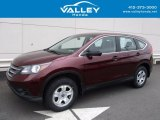 2014 Basque Red Pearl II Honda CR-V LX AWD #120422797