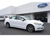 2017 Oxford White Ford Fusion SE #120422904