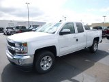 2017 Summit White Chevrolet Silverado 1500 LT Double Cab 4x4 #120450955
