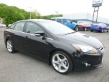 2013 Tuxedo Black Ford Focus Titanium Sedan #120451087