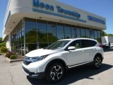 2017 White Diamond Pearl Honda CR-V Touring AWD #120469900