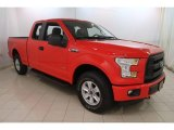2015 Race Red Ford F150 XL SuperCab 4x4 #120469985