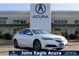 2017 Bellanova White Pearl Acura TLX V6 SH-AWD Advance Sedan #120469780
