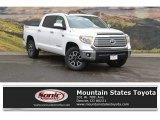 2017 Super White Toyota Tundra Limited CrewMax 4x4 #120488016