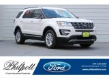 2017 White Platinum Ford Explorer XLT #120512296