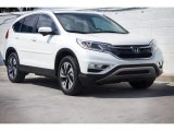 2015 White Diamond Pearl Honda CR-V Touring #120512282