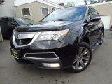 2011 Crystal Black Pearl Acura MDX Advance #120512346