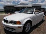 2002 Alpine White BMW 3 Series 325i Convertible #12050675