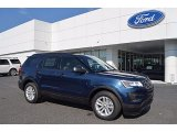 2017 Ford Explorer Blue Jeans
