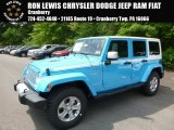 2017 Chief Blue Jeep Wrangler Unlimited Chief Edition 4x4 #120534648