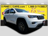 2017 Bright White Jeep Grand Cherokee Limited 4x4 #120534592