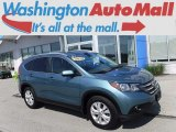 2014 Mountain Air Metallic Honda CR-V EX-L AWD #120534692