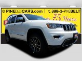 2017 Bright White Jeep Grand Cherokee Limited 4x4 #120534585