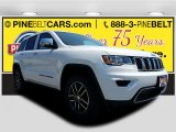 2017 Bright White Jeep Grand Cherokee Limited 4x4 #120534583
