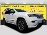 2017 Bright White Jeep Grand Cherokee Overland 4x4 #120534580