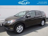 2014 Kona Coffee Metallic Honda CR-V EX-L AWD #120534575