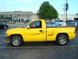 2001 Yellow Chevrolet Silverado 1500 Regular Cab #12040838