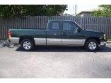 2003 Dark Green Metallic Chevrolet Silverado 1500 LS Extended Cab #12049375
