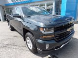 2017 Graphite Metallic Chevrolet Silverado 1500 LT Double Cab 4x4 #120534622