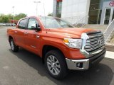 2017 Inferno Orange Toyota Tundra Limited CrewMax 4x4 #120534672